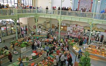 Märkte von Les Sables d'Olonne in der Vendée