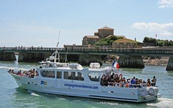 Boots und Angelfahrten auf dem Meer von  les Sables d'Olonne in der Vendée