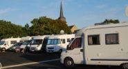 Speziell vorgesehenen Stellplätzen in Olonne sur Mer