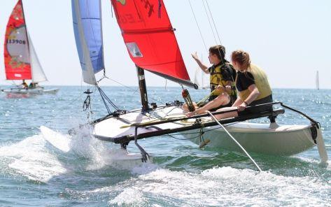 catamaran-Institut Sports Océan - H2O